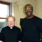 Fr. Justin Dyrwal of Assumption and Fr. Leveque Bien-Aime of Mirebalais