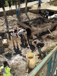 Clean water project in Desvarieux