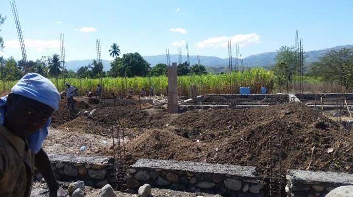 Noyau School Construction 1 (January 2018)
