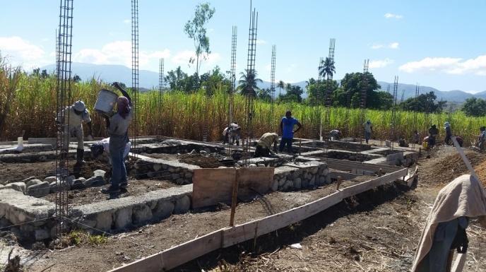 Noyau School Construction 2 (January 2018)