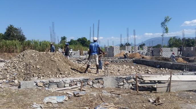 Noyau School Construction 3 (January 2018)