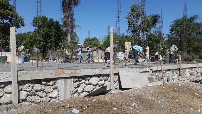 Noyau School Construction 4 (January 2018)