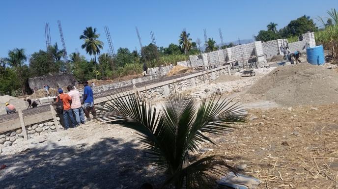 Noyau School Construction 5 (January 2018)