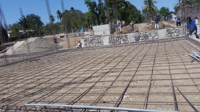 Noyau School Construction 7 (January 2018)