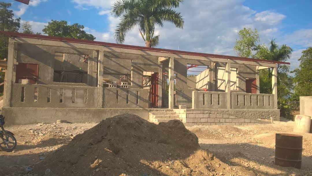 Noyau School Construction 5 (April 2018)