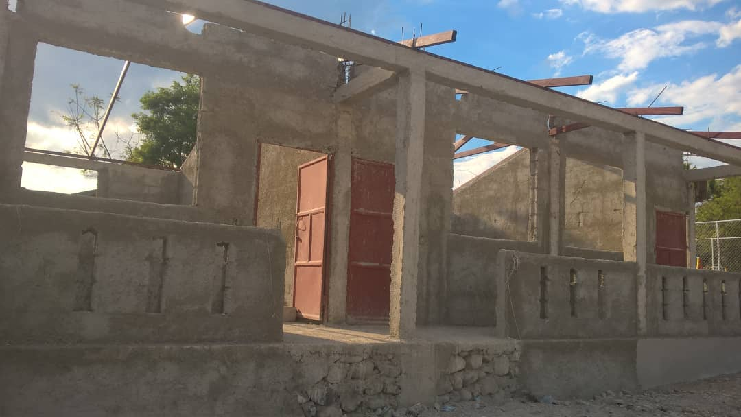 Noyau School Construction 6 (April 2018)